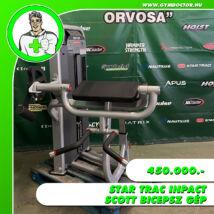 Star Trac Inpact scott bicepsz gép
