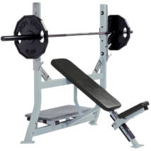 INCLINE BENCH – Hammer Strength Olympic