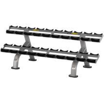 2 soros súlyzótartó állvány 10 pár súlyzóhoz -Vector Fitness