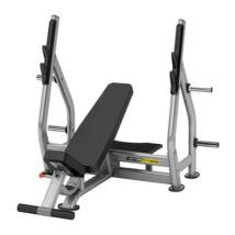 Döntött fekvenyomó pad súlytárcsa tartóval -Vector Fitness