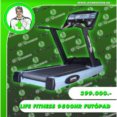 Life Fitness 9500HR futópad