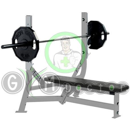 FLAT BENCH – FEKVENYOMÓ PAD - Hammer Strength Olympic