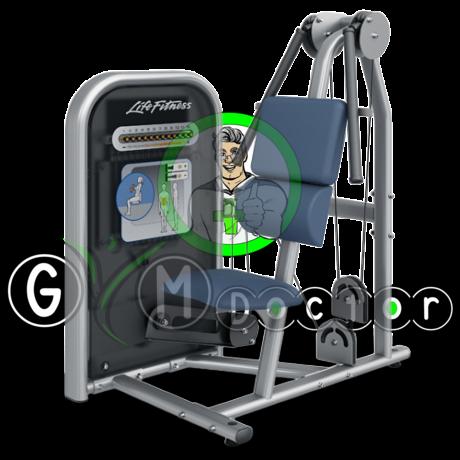 Life Fitness Circuit - Hasprés gép