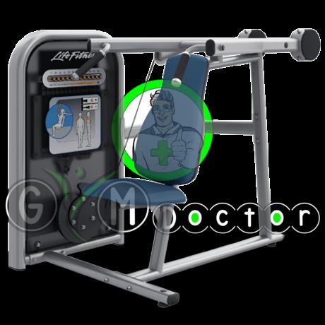 Life Fitness Circuit - Vállnyomó gép