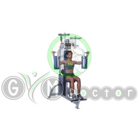 MELLPRÉS GÉP - Life Fitness PRO1