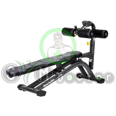 A995 Crunch bench - SportsArt Free Weights