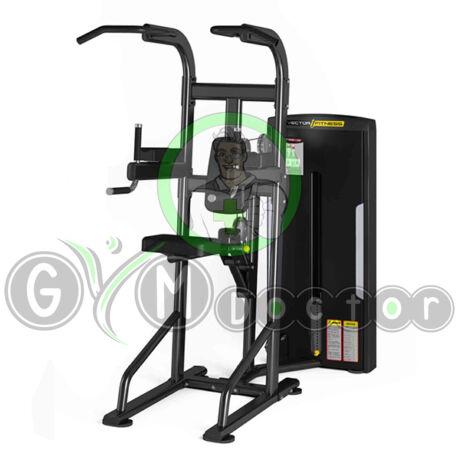 Húzódzkodó / tolódzkodó gép -Vector Fitness Orion